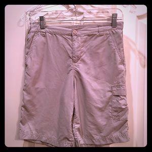 COLUMBIA OMNI-SHADE Boys Shorts size large